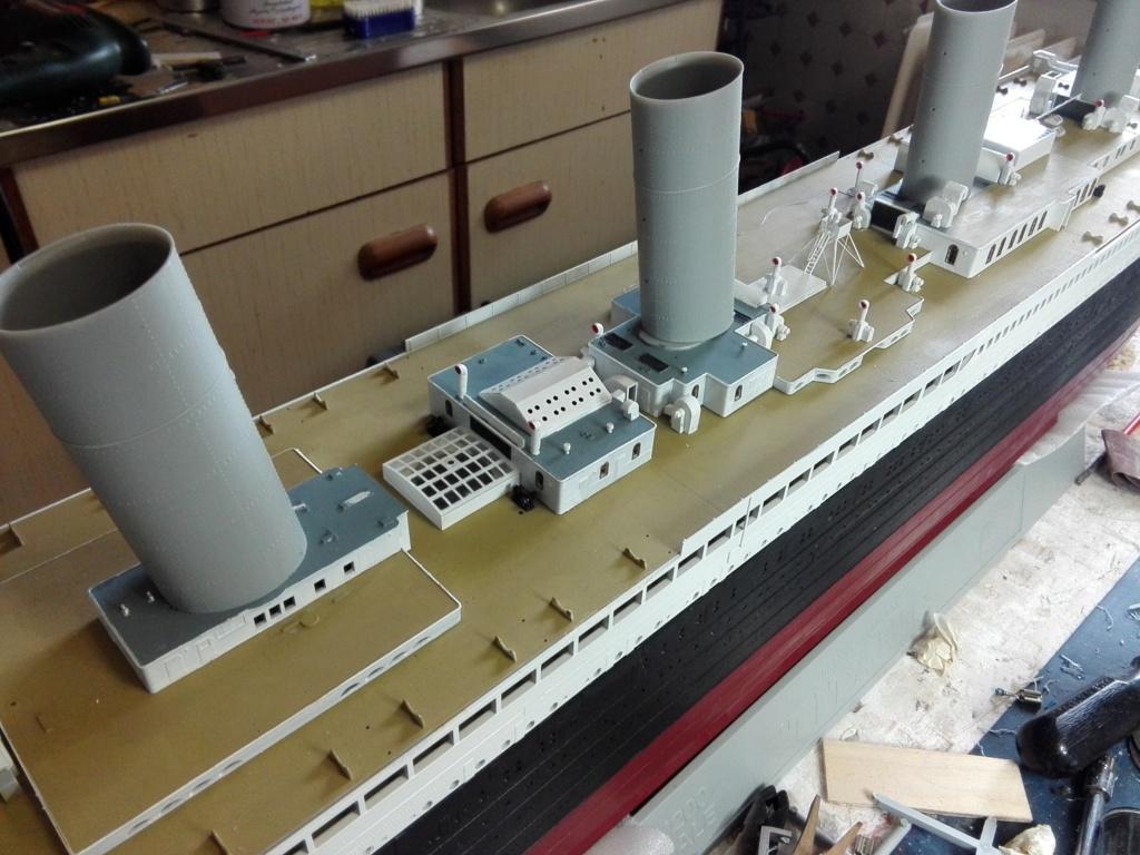 RMS Titanic / Trumpeter, 1:200 - als RC Version - Seite 3 Img_2547