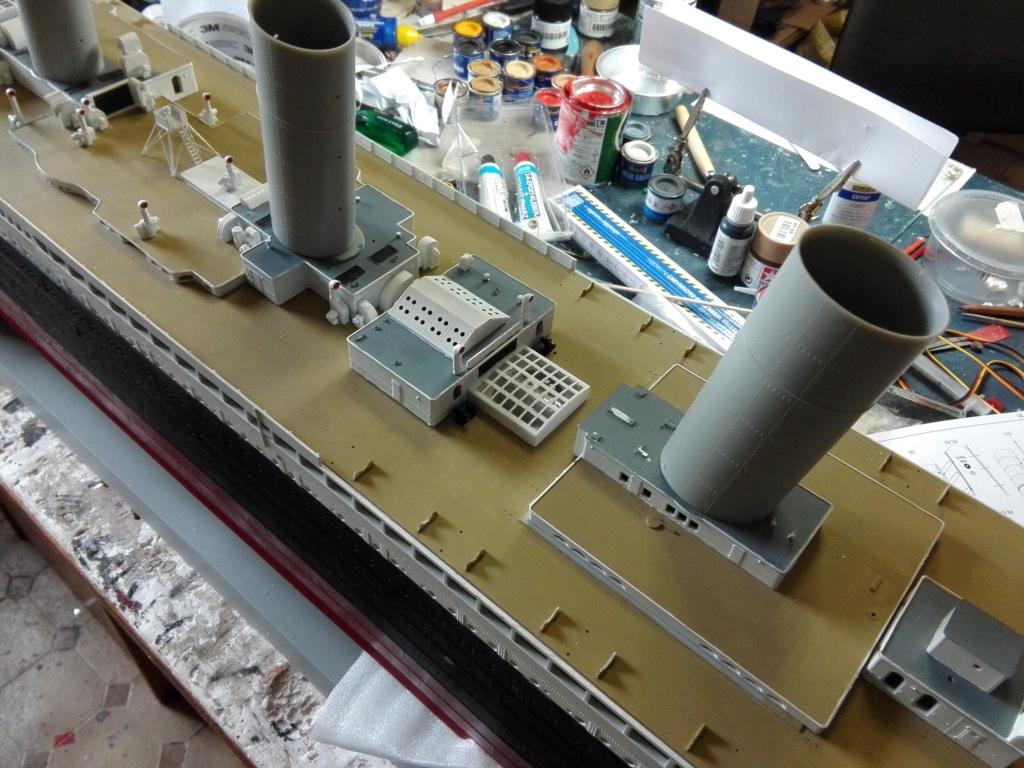 RMS Titanic / Trumpeter, 1:200 - als RC Version - Seite 3 Img_2548