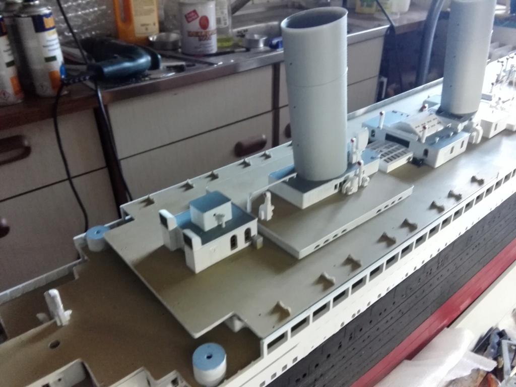 RMS Titanic / Trumpeter, 1:200 - als RC Version - Seite 3 Img_2549