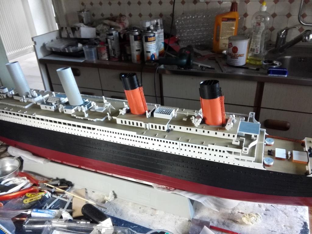RMS Titanic / Trumpeter, 1:200 - als RC Version - Seite 3 Img_2550