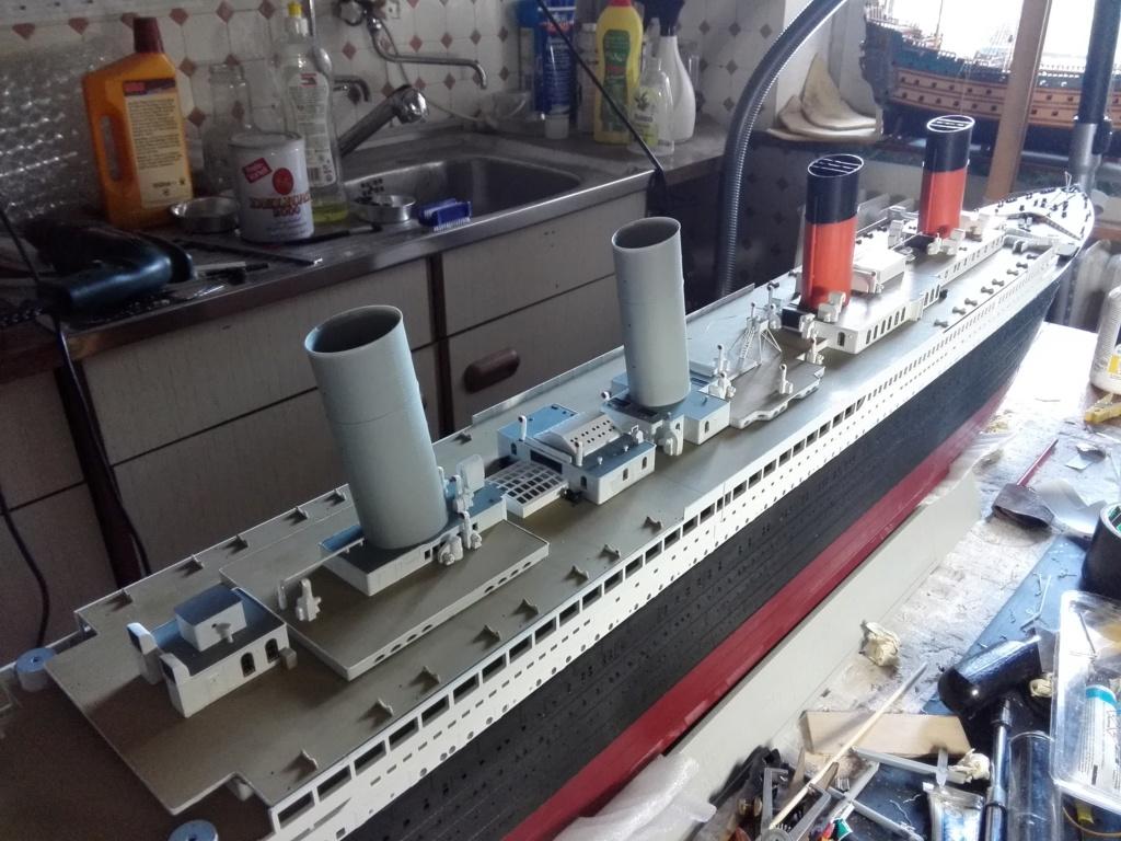 RMS Titanic / Trumpeter, 1:200 - als RC Version - Seite 3 Img_2551