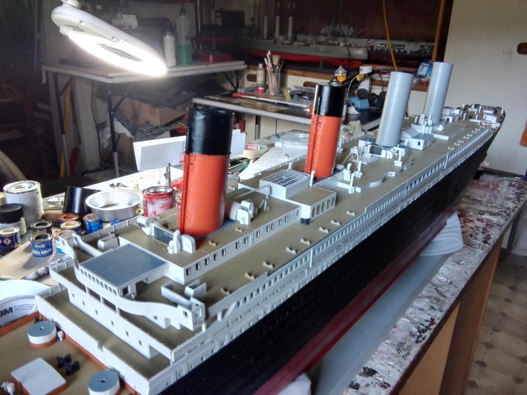 RMS Titanic / Trumpeter, 1:200 - als RC Version - Seite 3 Img_2552