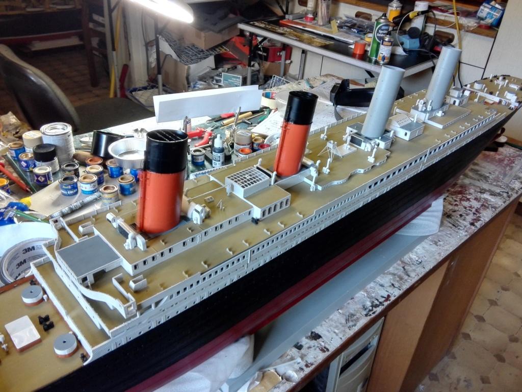 RMS Titanic / Trumpeter, 1:200 - als RC Version - Seite 3 Img_2553