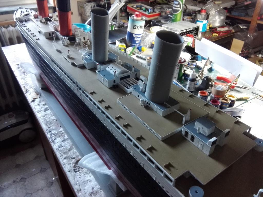 RMS Titanic / Trumpeter, 1:200 - als RC Version - Seite 3 Img_2554