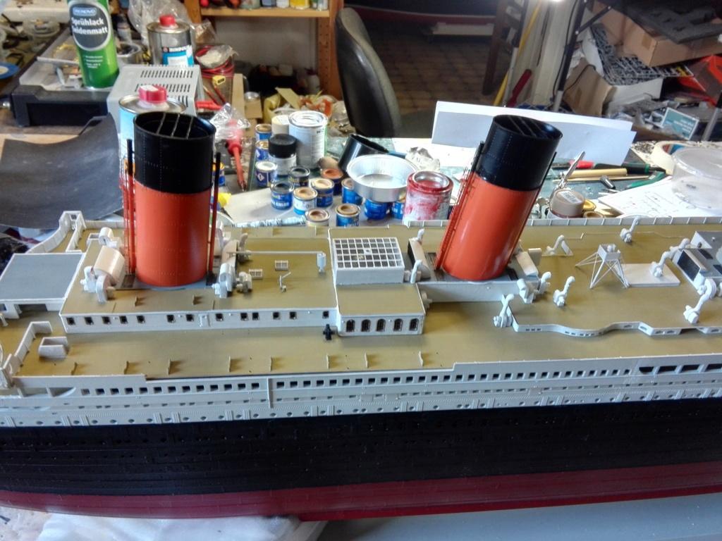 RMS Titanic / Trumpeter, 1:200 - als RC Version - Seite 3 Img_2555