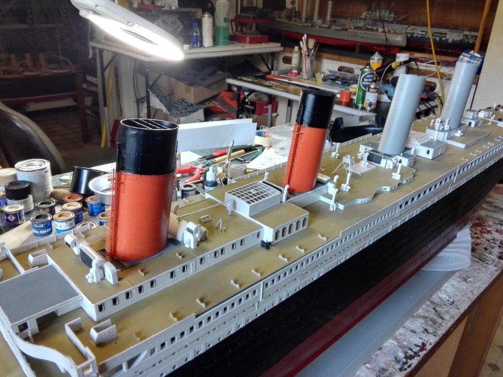 RMS Titanic / Trumpeter, 1:200 - als RC Version - Seite 3 Img_2556