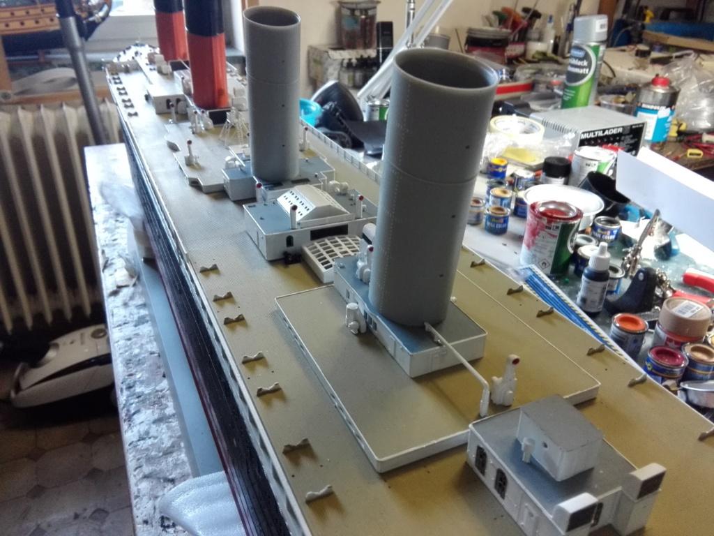 RMS Titanic / Trumpeter, 1:200 - als RC Version - Seite 3 Img_2557