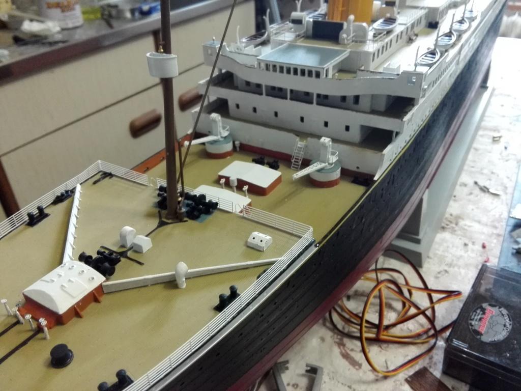 RMS Titanic / Trumpeter, 1:200 - als RC Version - Seite 5 Img_2621