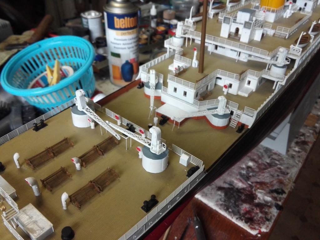 RMS Titanic / Trumpeter, 1:200 - als RC Version - Seite 5 Img_2622