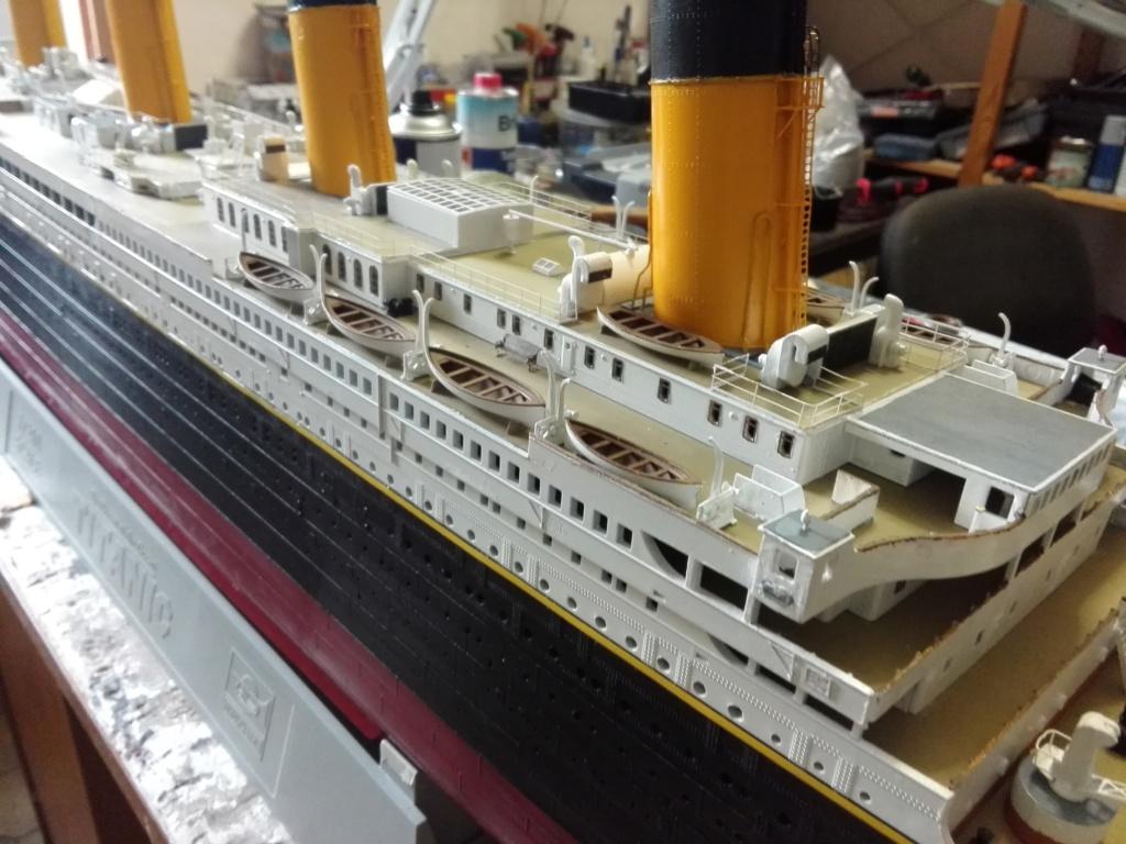 RMS Titanic / Trumpeter, 1:200 - als RC Version - Seite 5 Img_2623