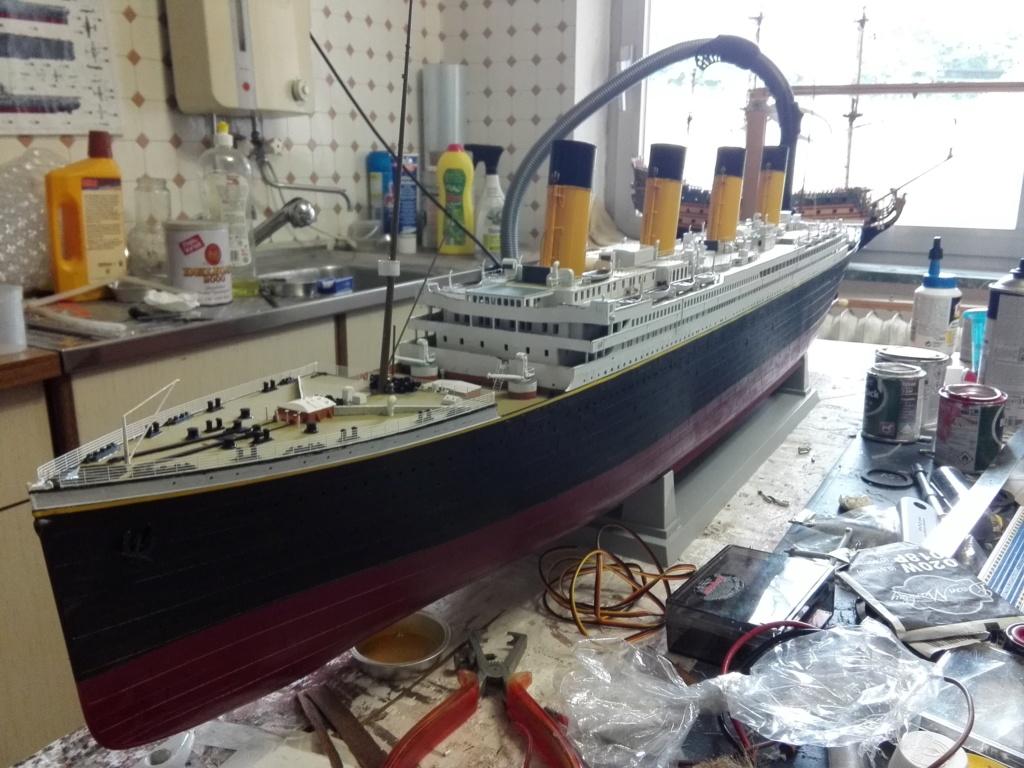 RMS Titanic / Trumpeter, 1:200 - als RC Version - Seite 5 Img_2624