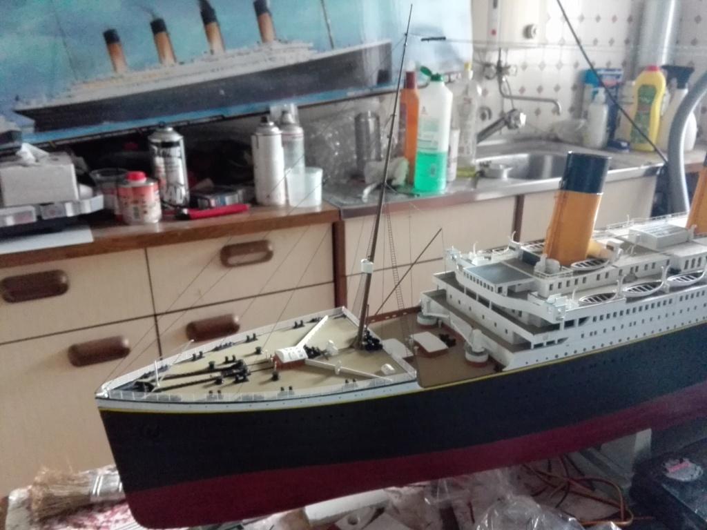 RMS Titanic / Trumpeter, 1:200 - als RC Version - Seite 5 Img_2631