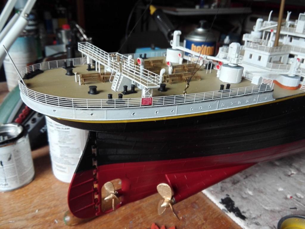 RMS Titanic / Trumpeter, 1:200 - als RC Version - Seite 5 Img_2633