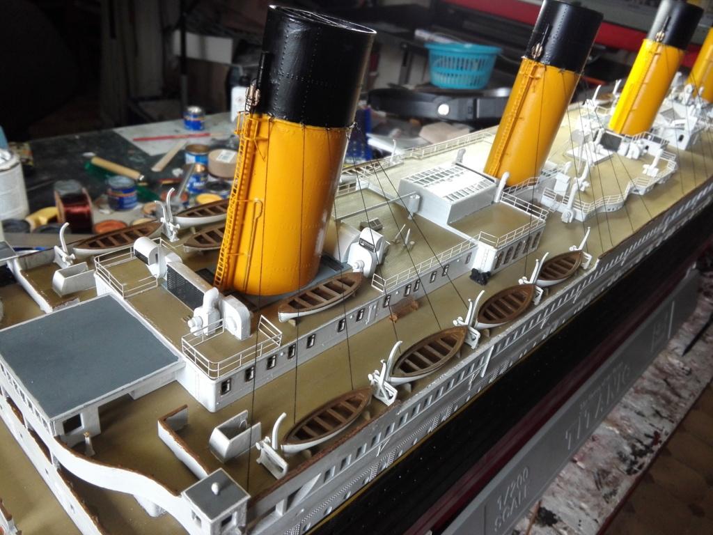 RMS Titanic / Trumpeter, 1:200 - als RC Version - Seite 6 Img_2670