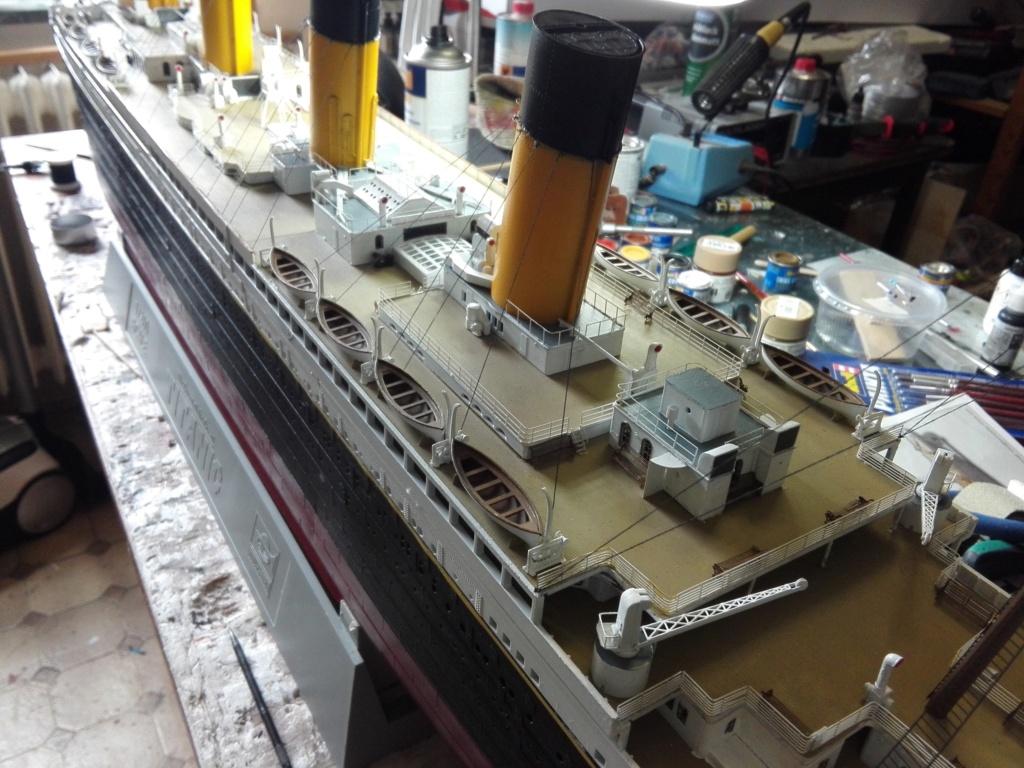 RMS Titanic / Trumpeter, 1:200 - als RC Version - Seite 6 Img_2671