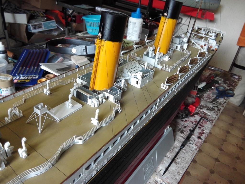 RMS Titanic / Trumpeter, 1:200 - als RC Version - Seite 6 Img_2672