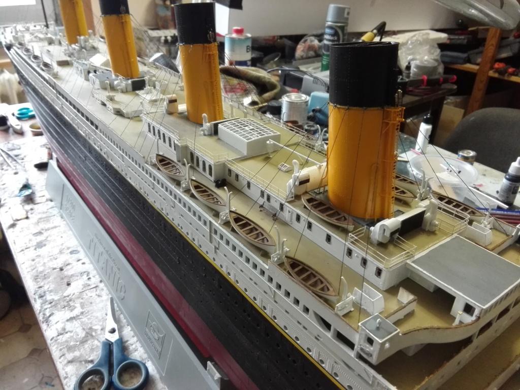 RMS Titanic / Trumpeter, 1:200 - als RC Version - Seite 6 Img_2673