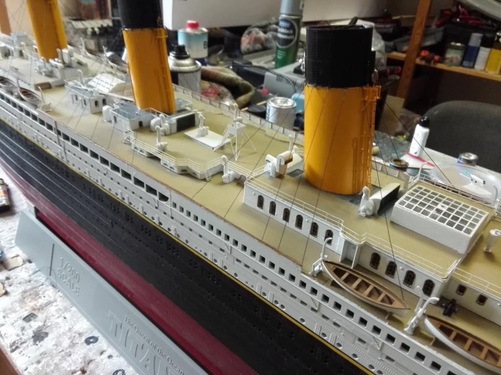 RMS Titanic / Trumpeter, 1:200 - als RC Version - Seite 6 Img_2674