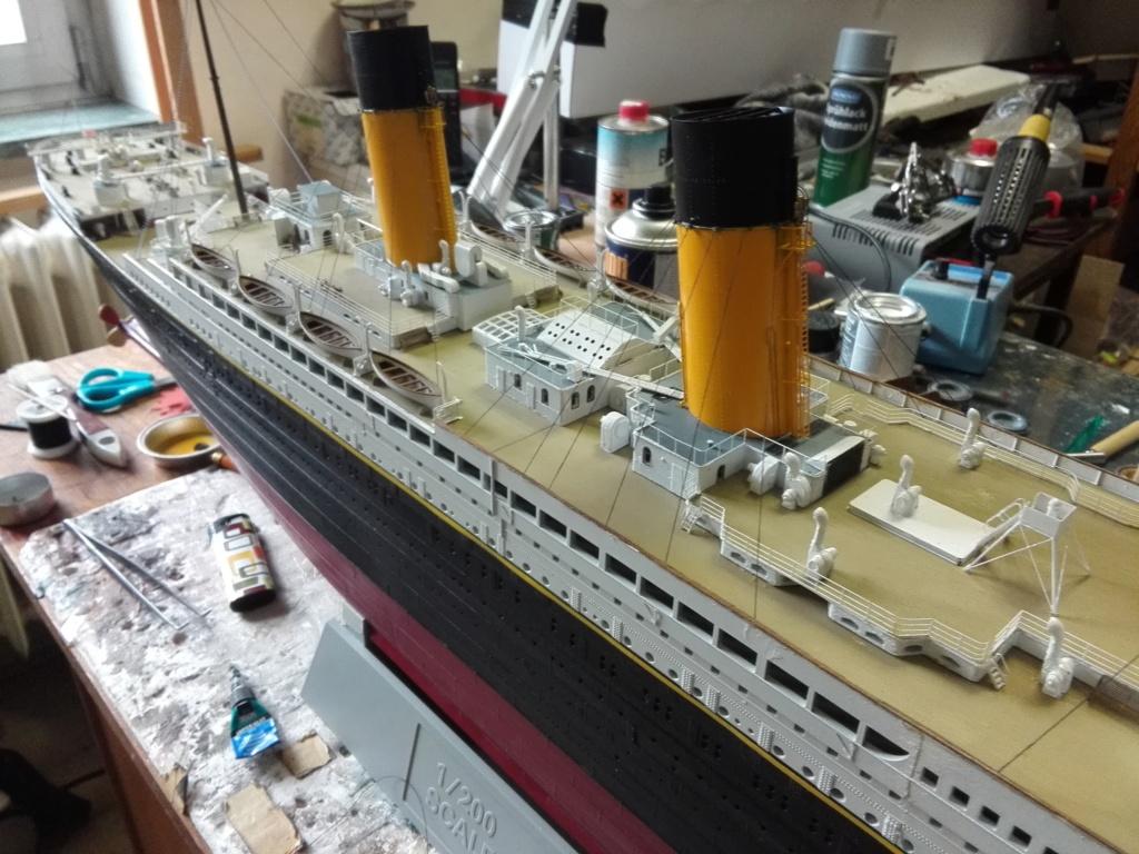 RMS Titanic / Trumpeter, 1:200 - als RC Version - Seite 6 Img_2675