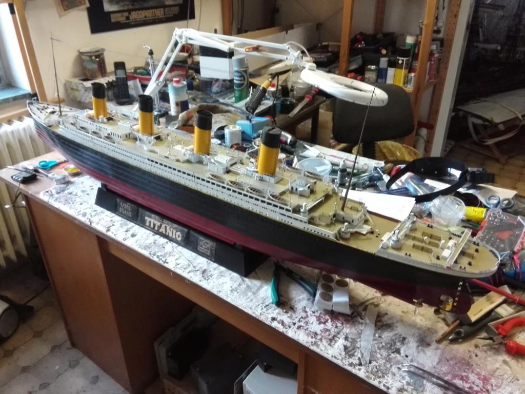 RMS Titanic / Trumpeter, 1:200 - als RC Version - Seite 6 Img_2681