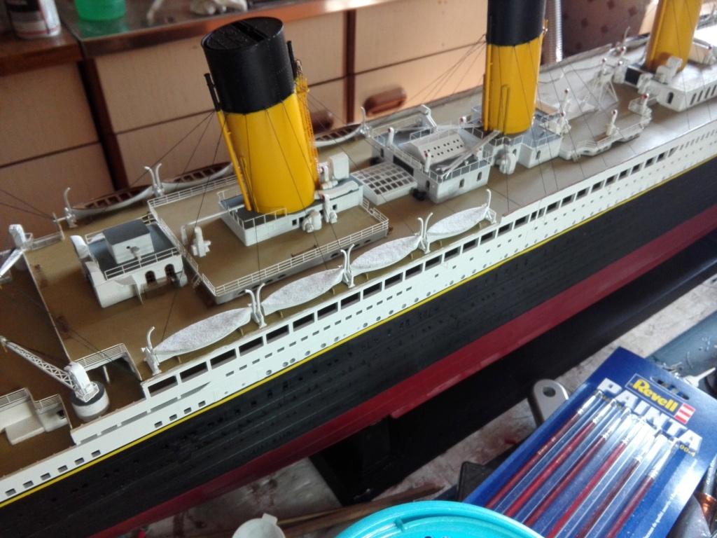 RMS Titanic / Trumpeter, 1:200 - als RC Version - Seite 6 Img_2698