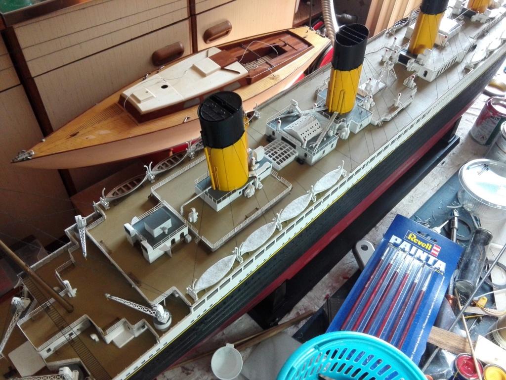 RMS Titanic / Trumpeter, 1:200 - als RC Version - Seite 6 Img_2700