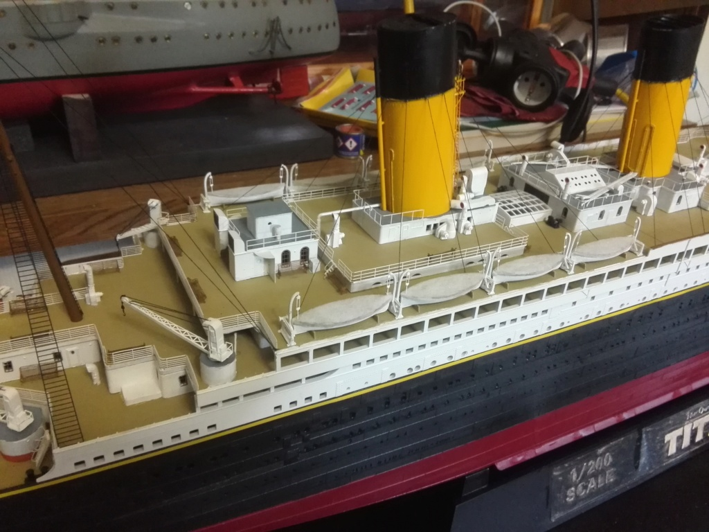 RMS Titanic / Trumpeter, 1:200 - als RC Version - Seite 6 Img_2719
