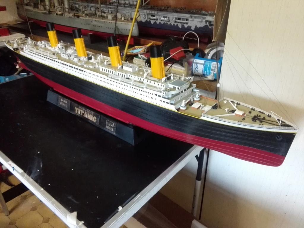 RMS Titanic / Trumpeter, 1:200 - als RC Version - Seite 6 Img_2720