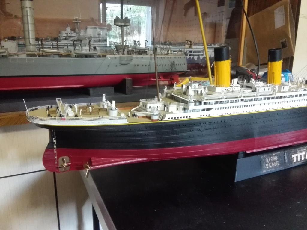 RMS Titanic / Trumpeter, 1:200 - als RC Version - Seite 6 Img_2721