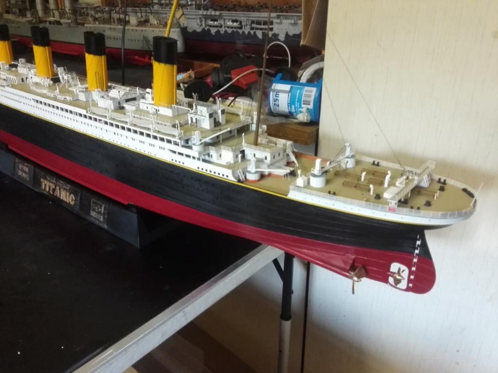 RMS Titanic / Trumpeter, 1:200 - als RC Version - Seite 6 Img_2722