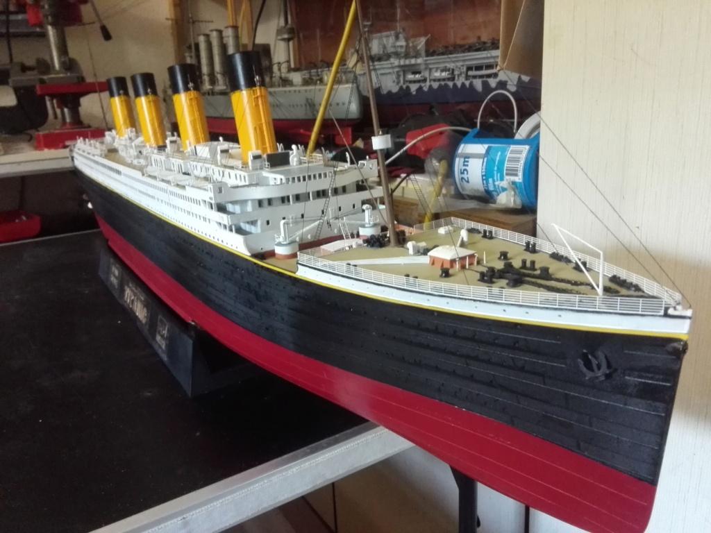 RMS Titanic / Trumpeter, 1:200 - als RC Version - Seite 6 Img_2723