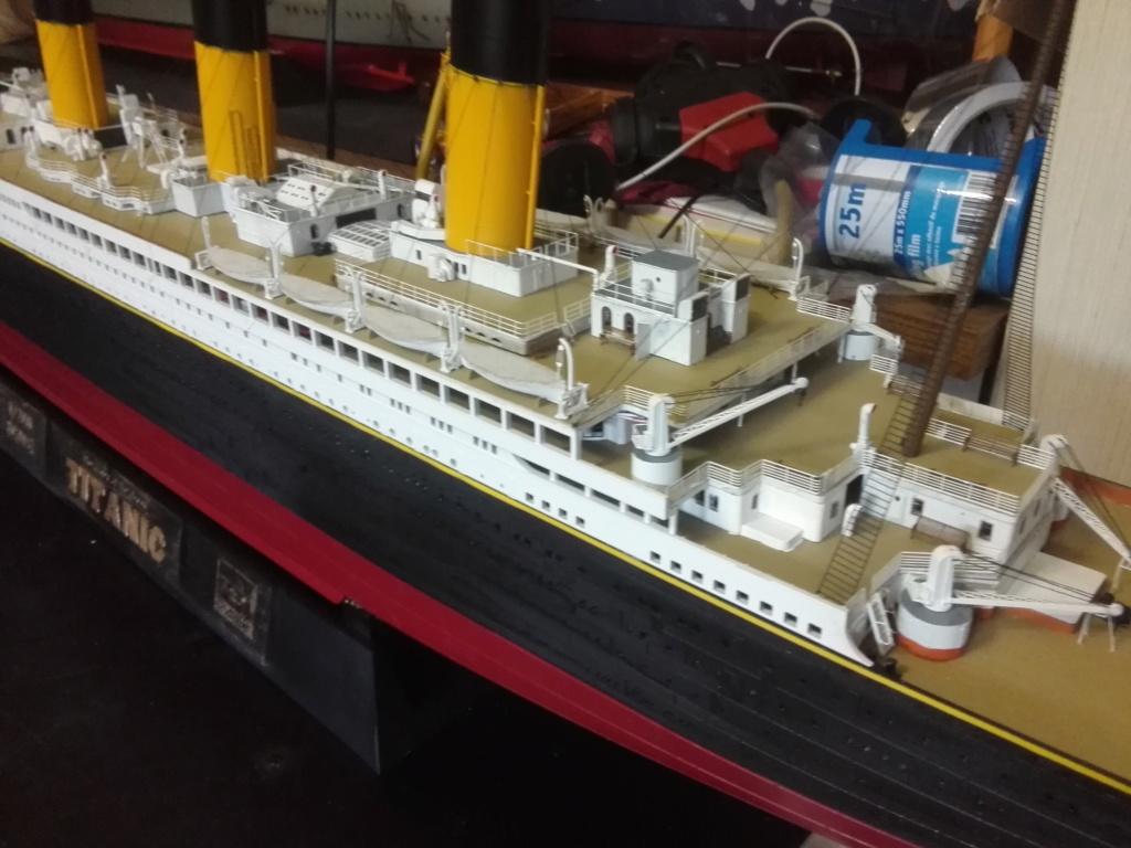 RMS Titanic / Trumpeter, 1:200 - als RC Version - Seite 6 Img_2724