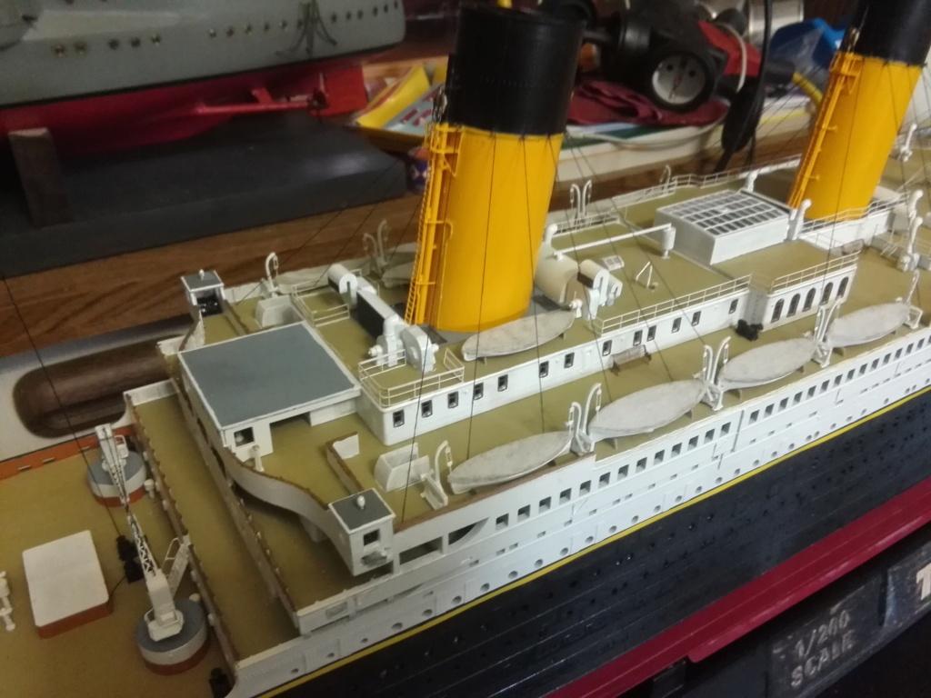 RMS Titanic / Trumpeter, 1:200 - als RC Version - Seite 6 Img_2729