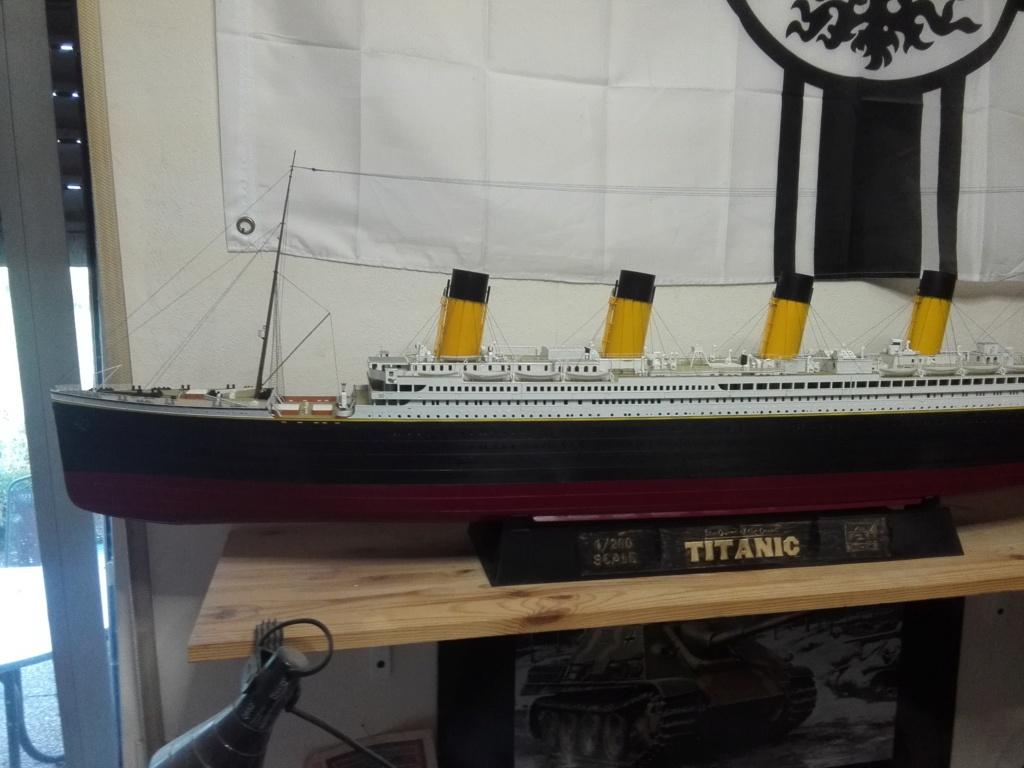 RMS Titanic / Trumpeter, 1:200 - als RC Version - Seite 6 Img_2731