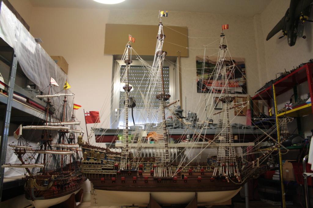 Sovereign of the Seas am Ausrüstungskai, Diorama in 1/72 Img_3925
