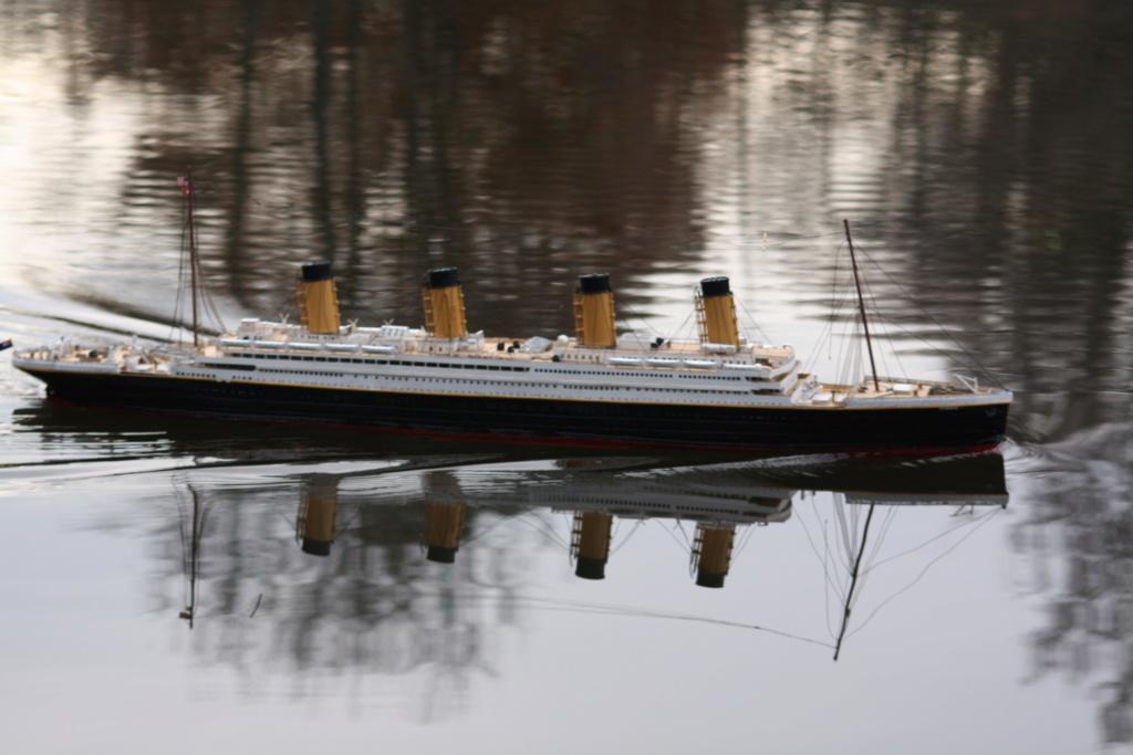 RMS Titanic von Krick im Maßstab 1/200 von November 2018 Img_6221