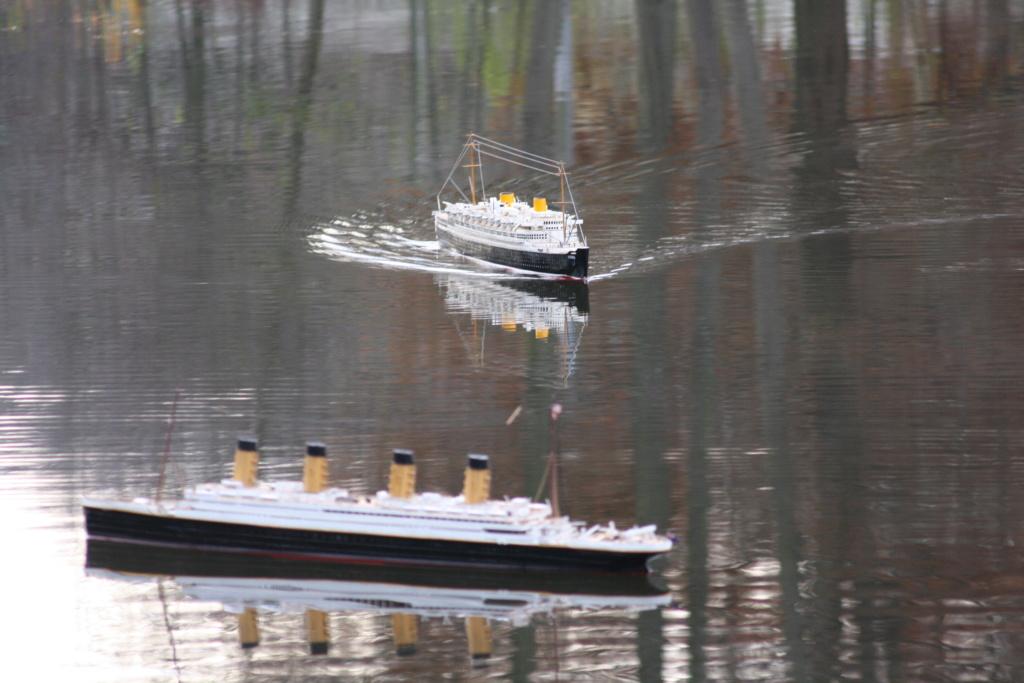 RMS Titanic von Krick im Maßstab 1/200 von November 2018 Img_6222