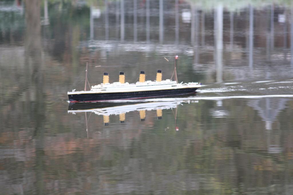 RMS Titanic von Krick im Maßstab 1/200 von November 2018 Img_6223
