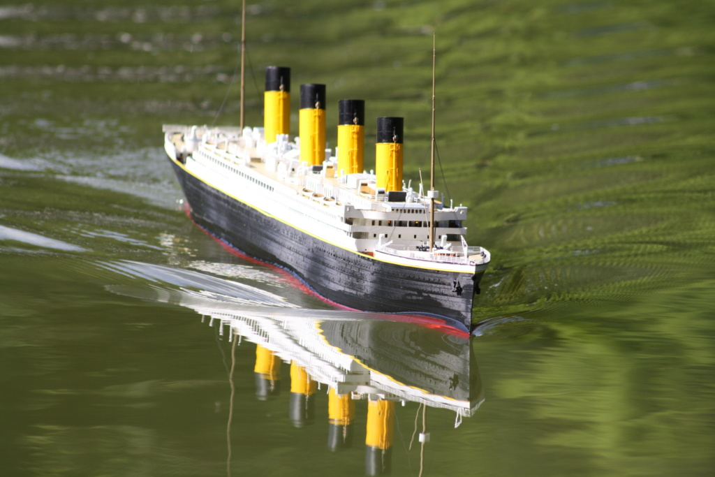 RMS Titanic / Trumpeter, 1:200 - als RC Version - Seite 5 Img_7910