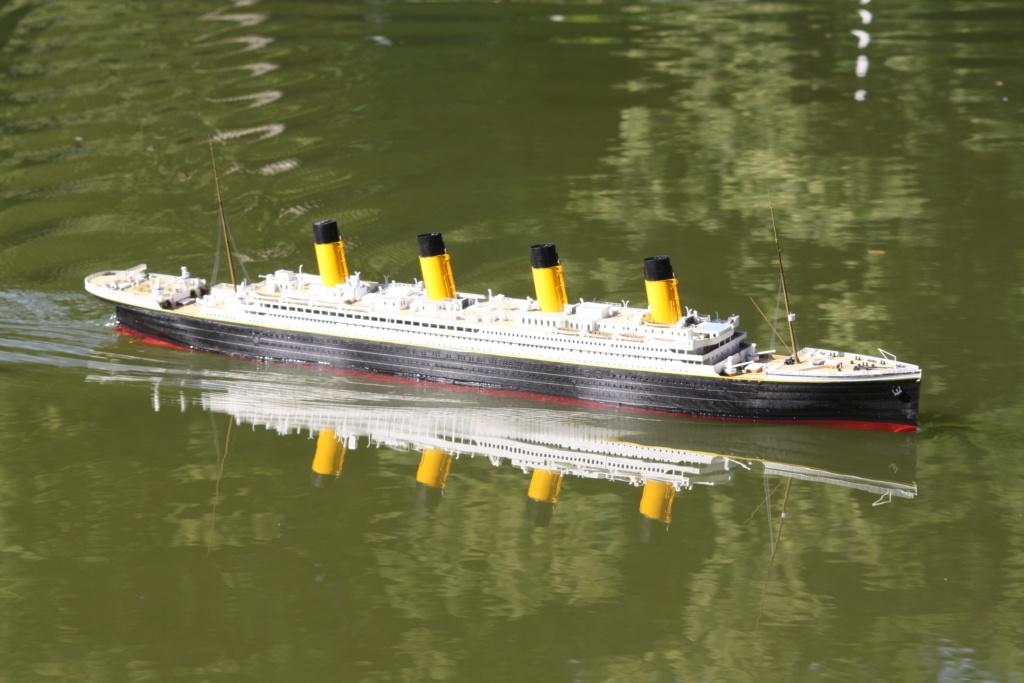 RMS Titanic / Trumpeter, 1:200 - als RC Version - Seite 5 Img_7911