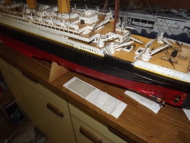 RMS Titanic von Krick im Maßstab 1/200 von November 2018 K-dscf15