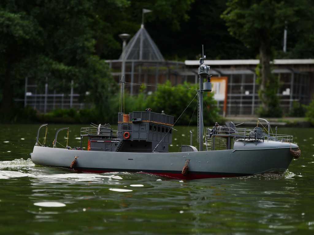 RC-Kriegsfischkutter in 1/35 K-p11822
