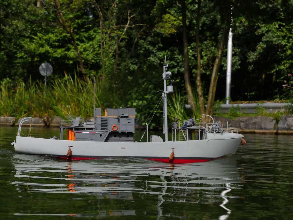 RC-Kriegsfischkutter in 1/35 K-p11824