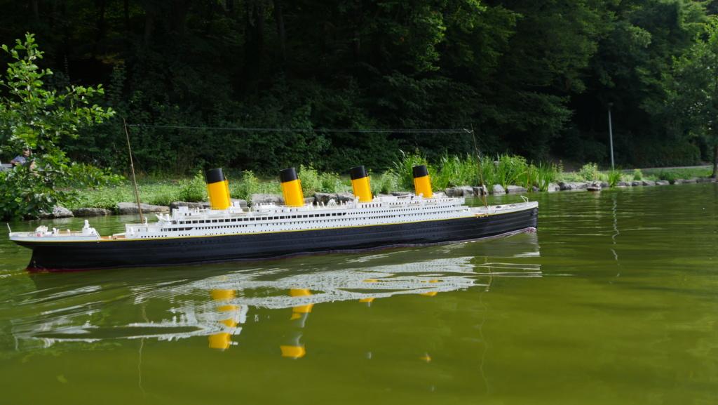 RMS Titanic / Trumpeter, 1:200 - als RC Version - Seite 5 P1090314