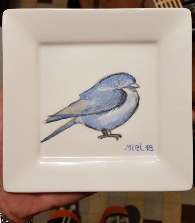 Peinture sur porcelaine - suite 1 20181029