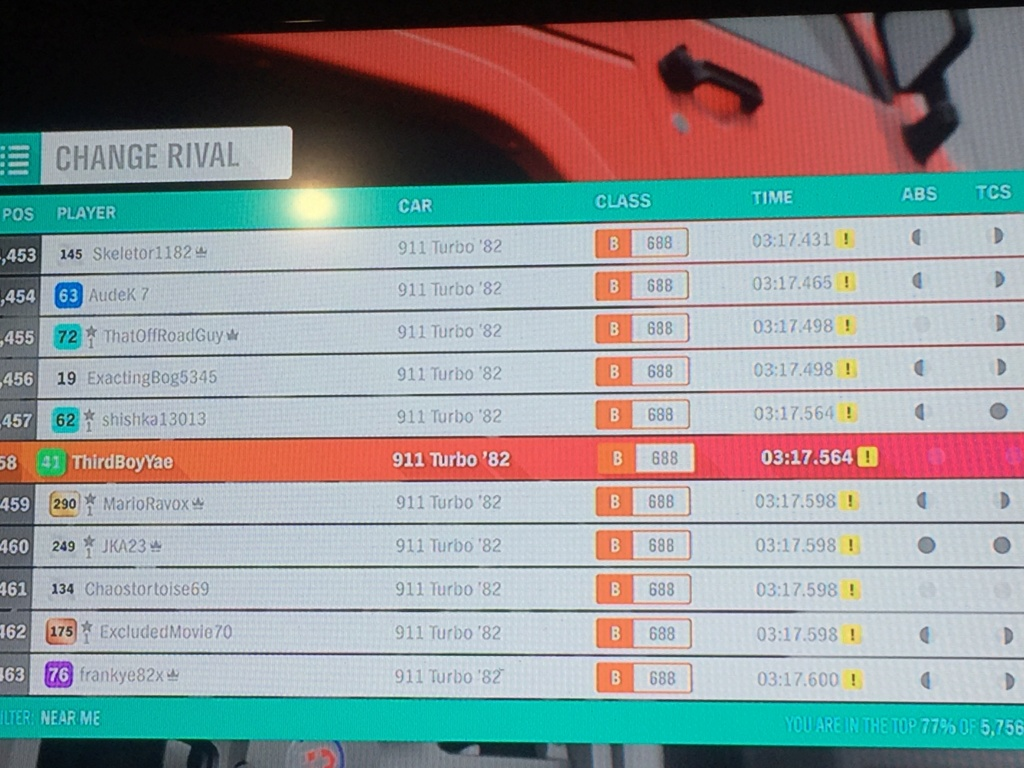 FH4 Time Attack | Dirt Racing Rivals - Holyrood Park Trail (911 Turbo '82) 12890410