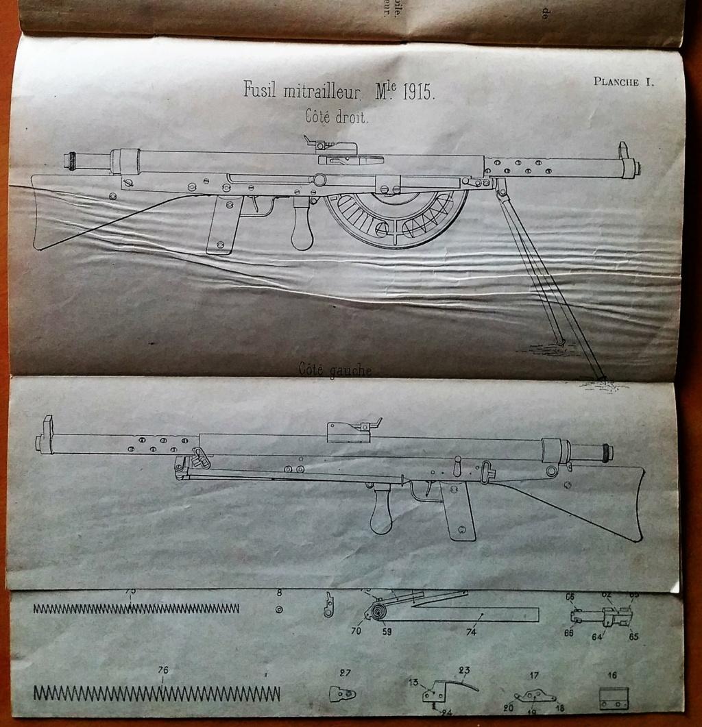 livret d'instruction FM chauchat carabine 1890 et revolver 1892 20201015