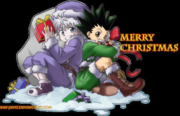 Weihnachtsgrüße aus dem HxH RPG! Marryx10