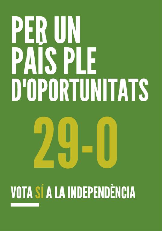 Campanya pel Sí 29ofin11
