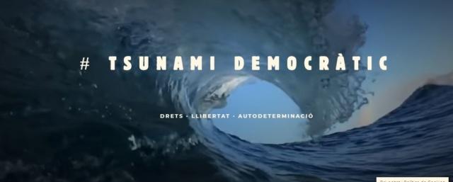 [TD] Nace Tsunami Democràtic con el compromiso de actuar contra la deriva autoritaria del Estado español 5d6cde10